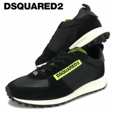 ディースクエアード/DSQUARED2 メンズ スニーカー NEW RUNNER HIKING SNM0081 11702256 ブラック/M778 シューズ/靴/ローカット