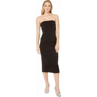ビービーダコタ BB Dakota レディース ワンピース ワンピース・ドレス Isn't It Iconic Bonded Crepe Strapless Zip Dress Black