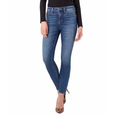 リバプール デニムパンツ ボトムス レディース Abby Ankle Skinny Jeans in Sequoia Sequoia