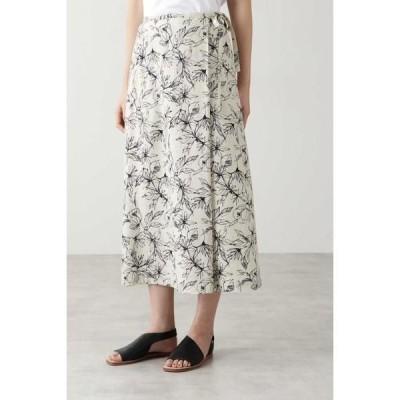 HUMAN WOMAN / ヒューマンウーマン アートワークプリントスカート