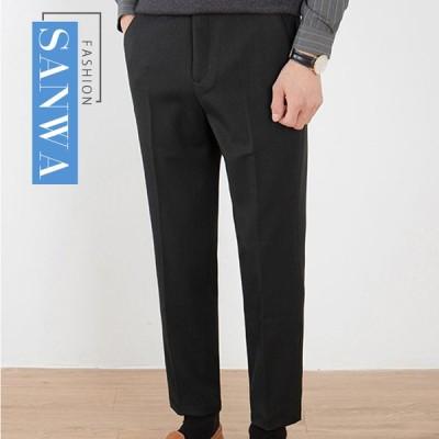 スラックス メンズ チノパン ビジネスパンツ テーパードパンツ 春秋冬 ビジネス スーツパンツ 男性用 紳士 細身 スリム美脚
