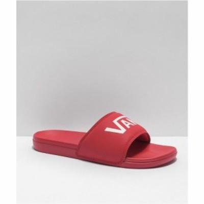 ヴァンズ VANS メンズ サンダル シューズ・靴 Vans La Costa Red Slide Sandals Red
