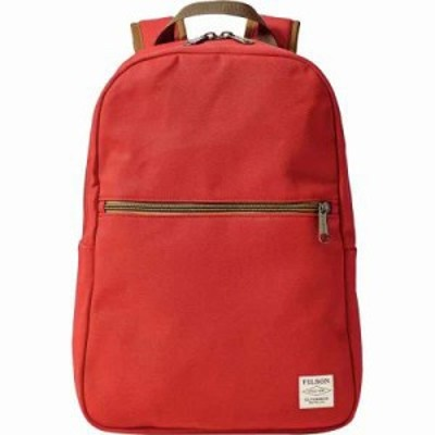 フィルソン バックパック・リュック Bandera Backpack Mackinaw Red