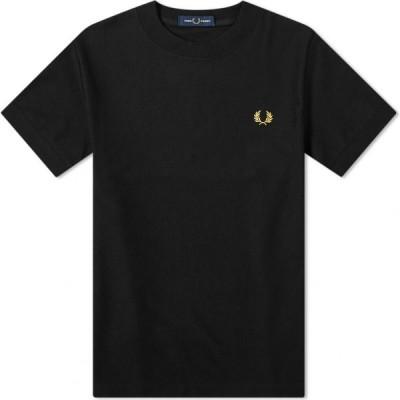フレッドペリー Fred Perry Authentic メンズ Tシャツ トップス Pique Tee Black