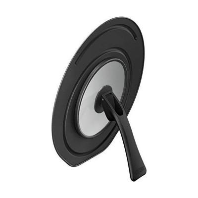 サーモス 折りたたみスタンド式フライパンフタ 20/24cm対応 ブラック KLC-001 BK