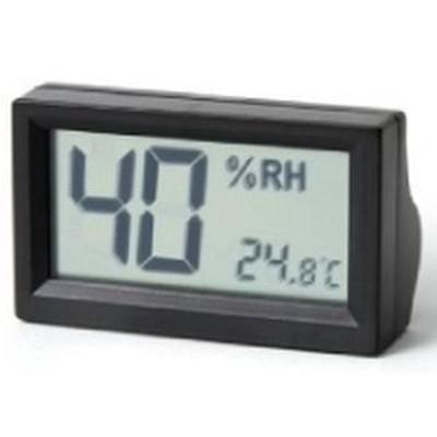 【納期目安:1週間】東洋リビング OP-AD-HD-BK オートクリーンドライ デジタル温湿度計(黒) ブラック (OPADHDBK)