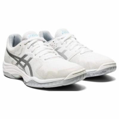 ASICS アシックス レディース 女性用 シューズ 靴 スニーカー 運動靴 GEL-Tactic(R) White/Aquarium【送料無料】
