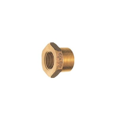 水栓金具 三栄水栓 T750-65X40 砲金ブッシング 受注生産品 [□§]