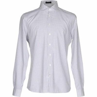 トネッロ TONELLO メンズ シャツ トップス Patterned Shirt White