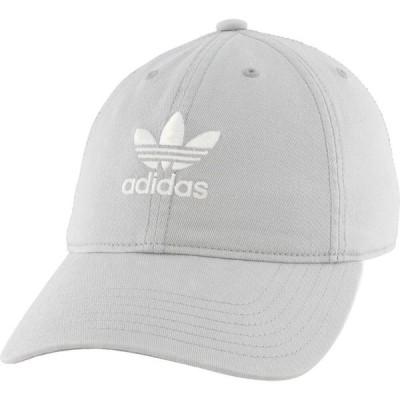 アディダス adidas レディース キャップ スナップバック 帽子 Originals Relaxed Strapback Hat Stone
