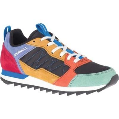 メレル スニーカー シューズ レディース Alpine Sneaker (Women's) Multi Leather/Nylon