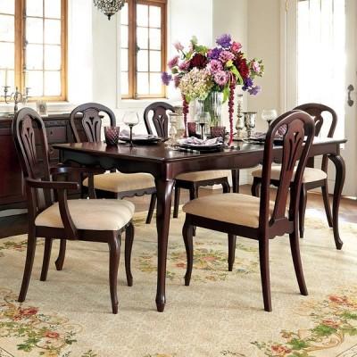 家具 収納 テーブル 机 ダイニングテーブル エレガントクラシックシリーズ ダイニングテーブル 幅180cm H89702