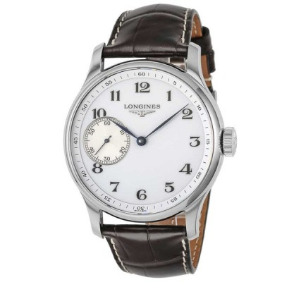 ロンジン 腕時計 メンズウォッチ 【マスターコレクション】 L2.841.4.18.3 BLACK/WHITE LONGINES 【wcm】