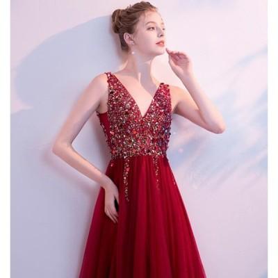 花嫁ウェディングドレス 結婚式 披露宴 二次会 演奏会 公演礼装パーティードレス カラードレス 写真撮影衣 ウエディングドレス