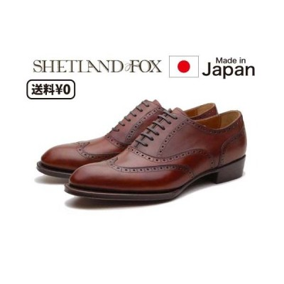 リーガル SHETLANDFOX シェットランドフォックス メンズビジネス ウィングチップ 012F SF