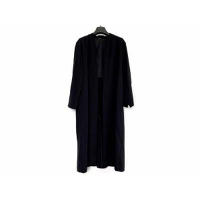 ミラオーウェン Mila Owen コート サイズ1 S レディース 黒 春・秋物【還元祭対象】【中古】20200718