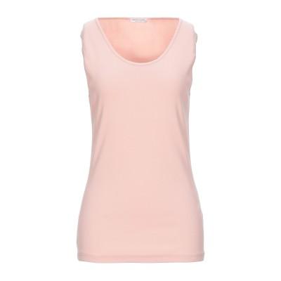 グラン サッソ GRAN SASSO T シャツ ライトピンク 44 コットン 94% / ポリウレタン 6% T シャツ