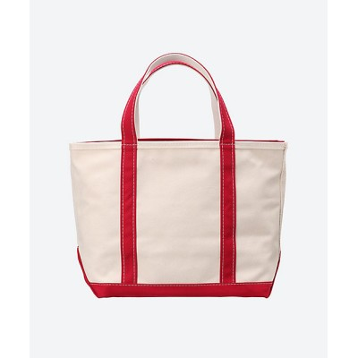 <L.L.Bean/エル・エル・ビーン> トートバッグ Boat and Tote Zip-top M RedTrim【三越伊勢丹/公式】