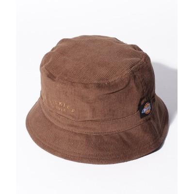 (Dickies/ディッキーズ)CLASSIC CORDUROY HAT/ユニセックス ブラウン