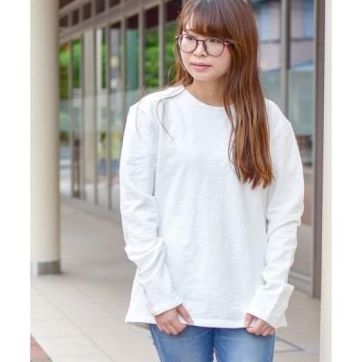 tシャツ Tシャツ 【69】【it】ミニ裏毛ロングスリーブカット