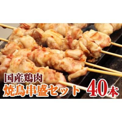 串盛40本セット 国産鶏肉