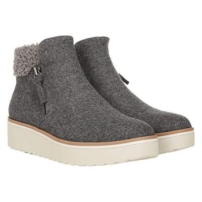 ドクターショール Lunar Sneaker Boot レディース ブーツ Grey Flannel