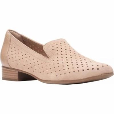 クラークス Clarks レディース ローファー・オックスフォード シューズ・靴 Juliet Hayes Perf Loafer Sand Suede
