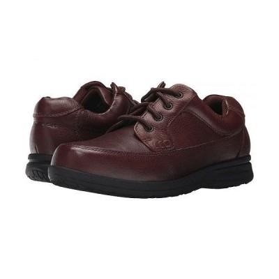 Nunn Bush ナンブッシュ メンズ 男性用 シューズ 靴 オックスフォード 紳士靴 通勤靴 Cam Oxford Casual Walking Shoe - Brown Tumbled Leather