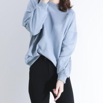 スウェット シャツ カジュアル 大きめに着こなす 3カラー