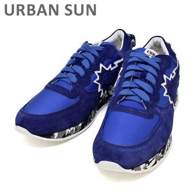 アーバンサン スニーカー ANDRE 58 ブルー/カモ URBAN SUN メンズ シューズ 靴