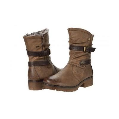 Spring Step スプリングステップ レディース 女性用 シューズ 靴 ブーツ ライダーブーツ Ebariet - Taupe