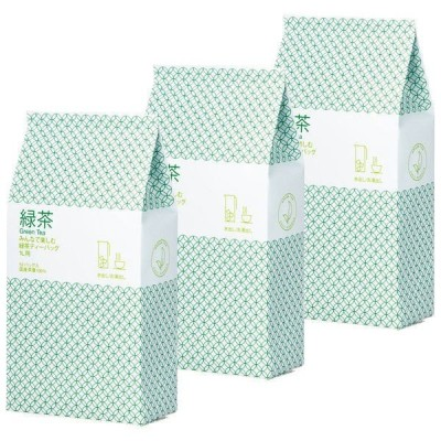 ハラダ製茶 みんなで楽しむ緑茶ティーバッグ1L用 1セット(156バッグ:52バッグ入×3袋)