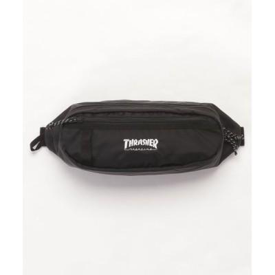 THRASHER by RIFFLEPAGE / BENCHMARK WAIST BAG S/スラッシャー ボディバッグ ウエストポーチ MEN バッグ > ボディバッグ/ウエストポーチ