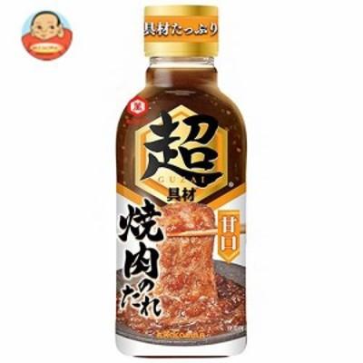送料無料 キッコーマン 超焼肉のたれ 甘口 340g×12本入