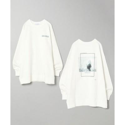 スウェット 【Charity Sweatshirts】バックボカシフォトウラケプルオーバー/934964