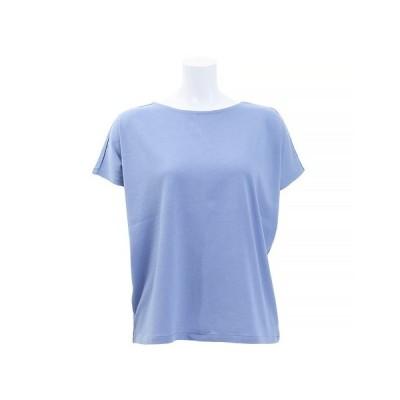 エーシーピージー(ACPG) Tシャツ 半袖 ドレープクルーネック 872PA9CD6374SAX オンライン価格 (レディース)