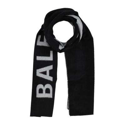 バレンシアガ BALENCIAGA マフラー ブラック ウール 100% マフラー