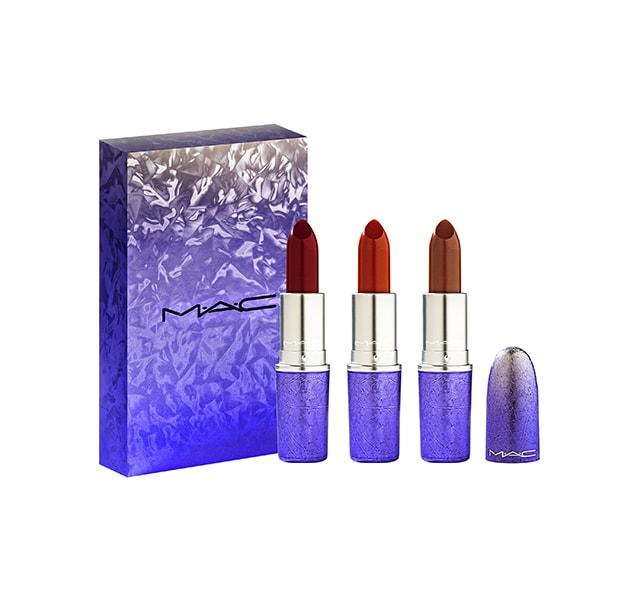 MAC 冰燦紫焰唇膏組