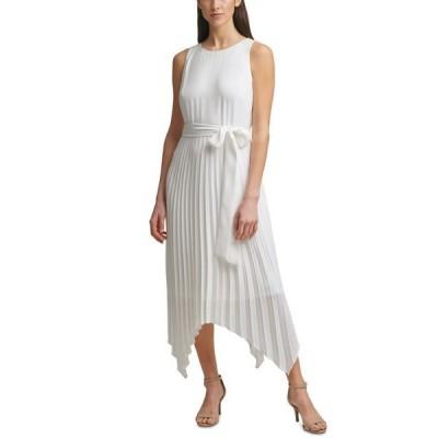ジェシカハワード レディース ワンピース トップス Petite Pleated Belted Dress
