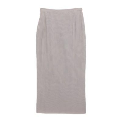 ドルチェ & ガッバーナ DOLCE & GABBANA 7分丈スカート カーキ 40 コットン 66% / ポリウレタン® 34% 7分丈スカート