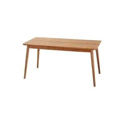 ダイニングテーブル おしゃれ 安い 北欧 食卓 テーブル 単品 モダン デスク 机 テレワーク 在宅 会議用テーブル ブラウン 約 幅150 奥行80 高さ72