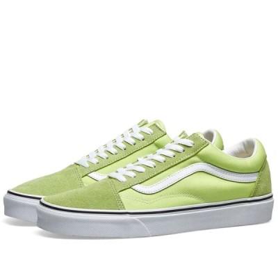 バンズ オールドスクール Vans Old Skool スニーカー シャープ グリーントゥルー ホワイト Sharp Green & White VN0A4BV5V9K1