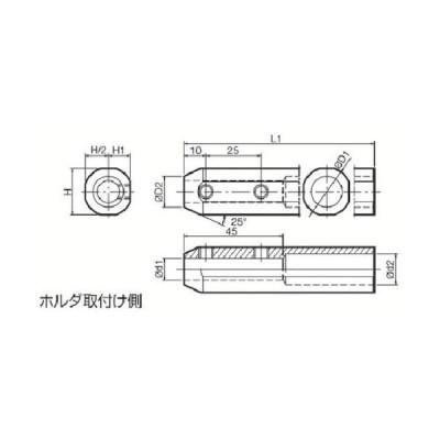 京セラ 内径加工用ホルダ ( SHA0822-125 ) 京セラ(株) 【メーカー取寄】