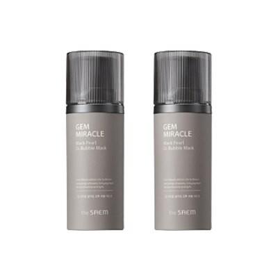 ジェムミラクル ブラックパールO2 泡マスク - 105g/角質毛穴の奥の老廃物除去/韓国化粧品