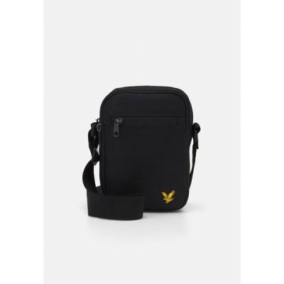 ライルアンドスコット ショルダーバッグ メンズ バッグ REPORTER BAG - Across body bag - true black