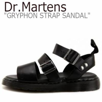 ドクターマーチン サンダル Dr.Martens GRYPHON STRAP SANDAL グリフォン ストラップ サンダル BLACK ブラック 15695001 シューズ