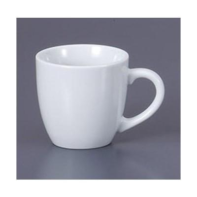 マグカップ 白ホーダンマグ [11.3 x 8.2 x 8cm 250cc]  料亭 旅館 和食器 飲食店 業務用