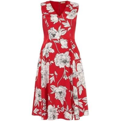 フェイズ エイト Phase Eight レディース ワンピース ワンピース・ドレス Eve Fit & Flare Dress Raspberry