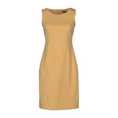 ペゼリコ PESERICO ミニワンピース&ドレス サンド 42 コットン 80% / ポリウレタン 20% ミニワンピース&ドレス
