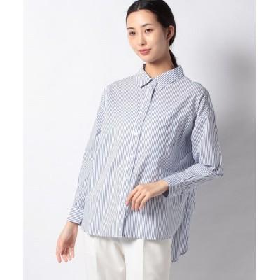 【コエ】 ローンベーシックシャツ レディース サックスブルー F koe